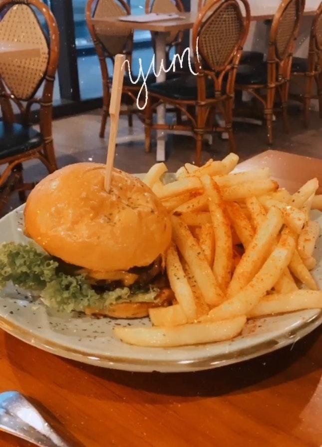 Spicy Beef Burger