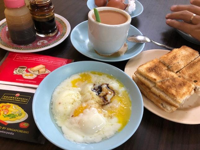 Kaya Toast & Eggs