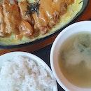 Golden Salted Egg Chicken Toji Set