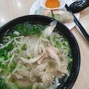 Chicken Pho & Vegetable Rolls