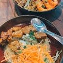 ayam lu rou don ($8.50) & power nasi goreng ($8.90)