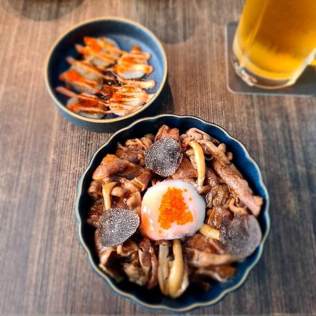 Truffle Mushroom Bowl