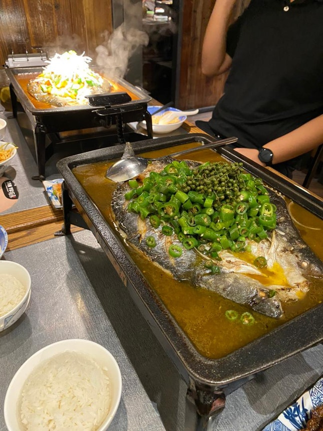 GRILLED FISH WITH GREEN PEPPER | SOY