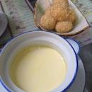 Mochi & Steamed Egg