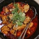 Medium Spicy Sichuan Chicken pot