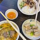 Beef Pho, Spring Rolls & Beef Noodle