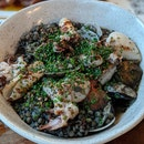 Squid Ink couscous