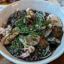 Squid Ink couscous