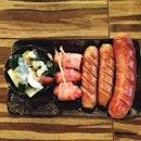 Sausage platter #pork #bacon #sausage #food #instafood