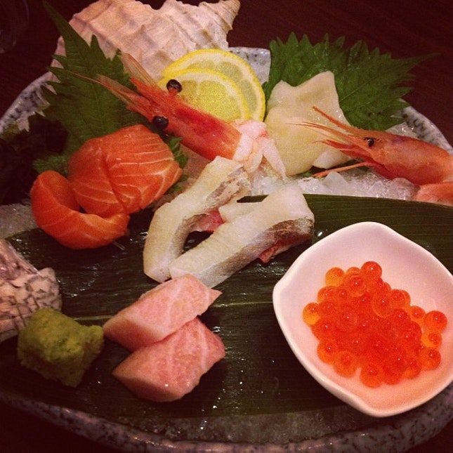 6 types of sashimi #Japanese #food #foodporn# instafood