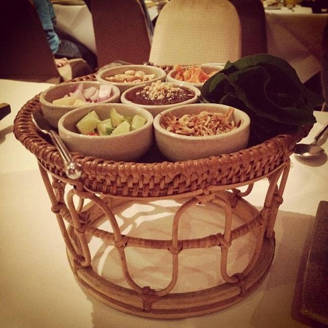 Miang Kam #foodporn #food #thailand #restaurant