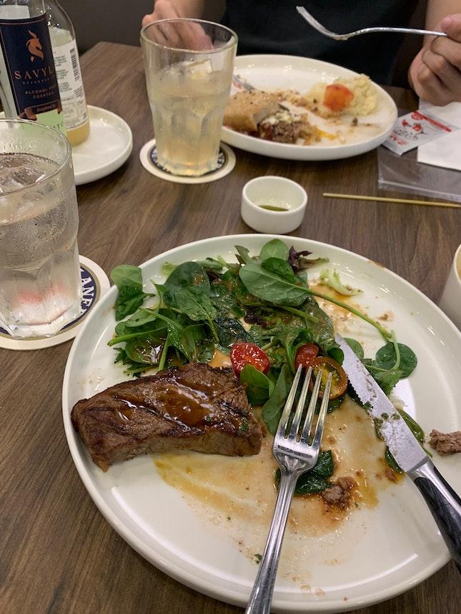 Not Bad, Portion Could Be Bigger For Steak