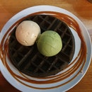 Delicious Waffles n Ice Cream!