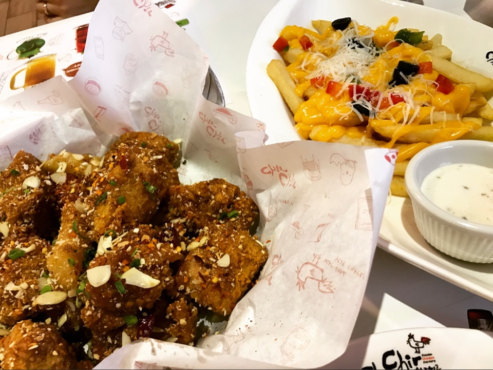 Garlicky Chicken~