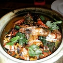"""The Prawn """"Star"""" with Vermicelli.  Very Good!"""