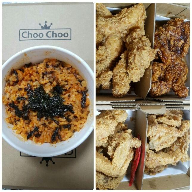 Korean Food And KFC