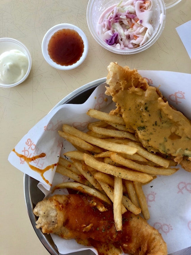Fish & Chips - Best Of Both Worlds