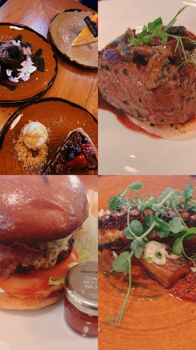 3 Course Meal @ $62 (Burpple 1 For 1)