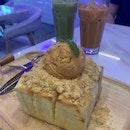 Thai Milk Tea Toast