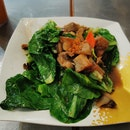 V4 Stir Fried Kailan With Roasted Pork