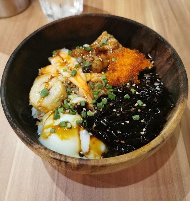 Seafood Donburi