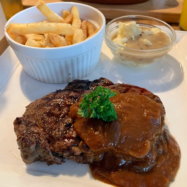 Sublime Steak and Ribs!