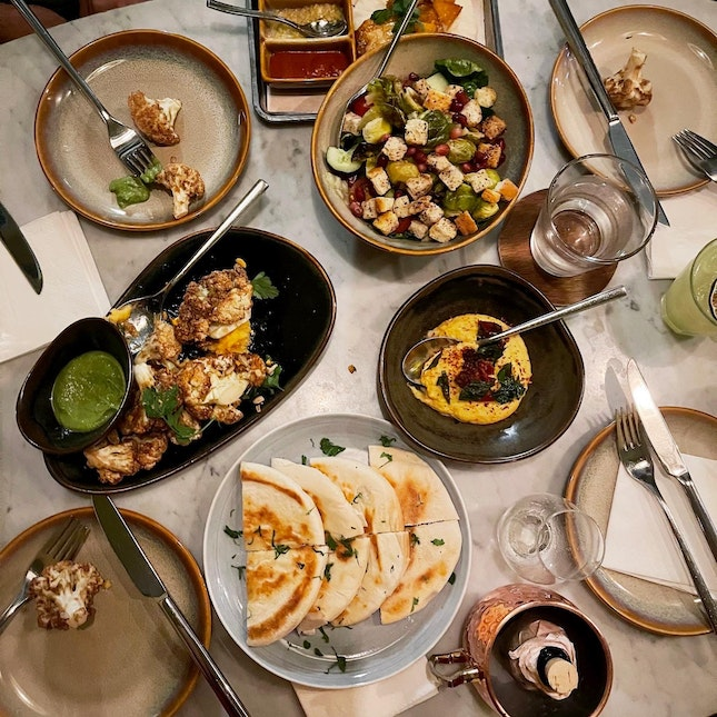 Contemporary Middle Eastern Food Done Right