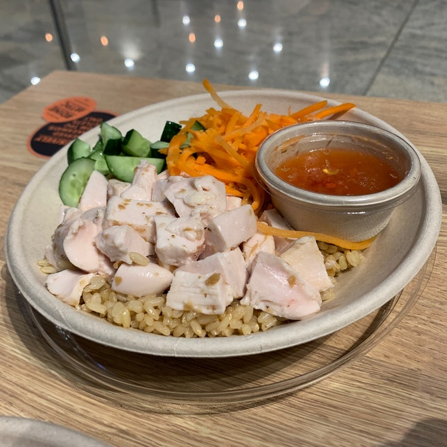 Healthier Chicken Rice