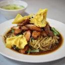 Wanton Noodles in black sauce 📍Bei-Ing Yun Tuen (Wanton) Mee @ Roxy Square on East Coast Road  #singaporefood #sgfood #sgeats #instafood #instafoodsg #foodhunt #foodporn #foodsg #foodpornsg #exploresingaporeeats #exsgcafes #burpple #uncagestreetfood #exploresingapore #singaporeinsiders #sghawker #hawkersg #sghawkerfood #streeteats #eatoutsg #sgigfoodies #sgfoodies #foodshare #wantonmee #wantonnoodles
