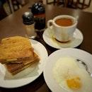 Kaya Butter Toast × Soft Boiled Egg × Kopi .