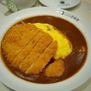 Omurice Pork Cutlet .