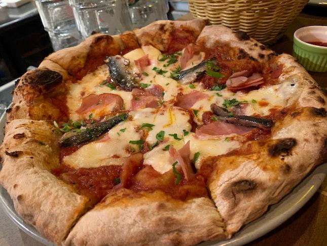 Lovely Firepit Pizza