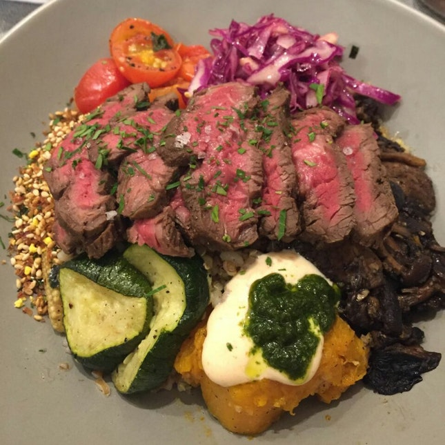Wagyu Beef Grain Bowl