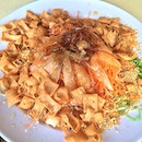 Today is 人日 so lou hei during lunch!