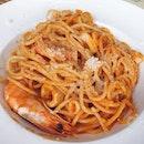 Seafood Pasta $24