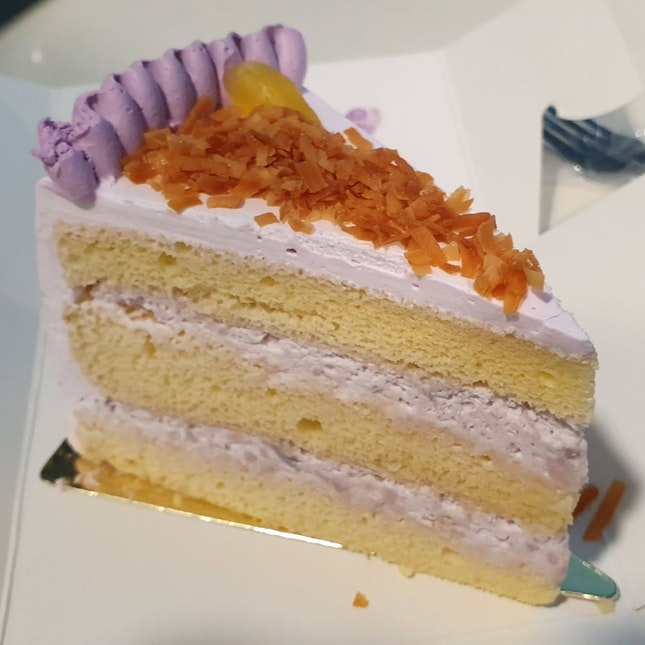 Orh Nee Cake slice