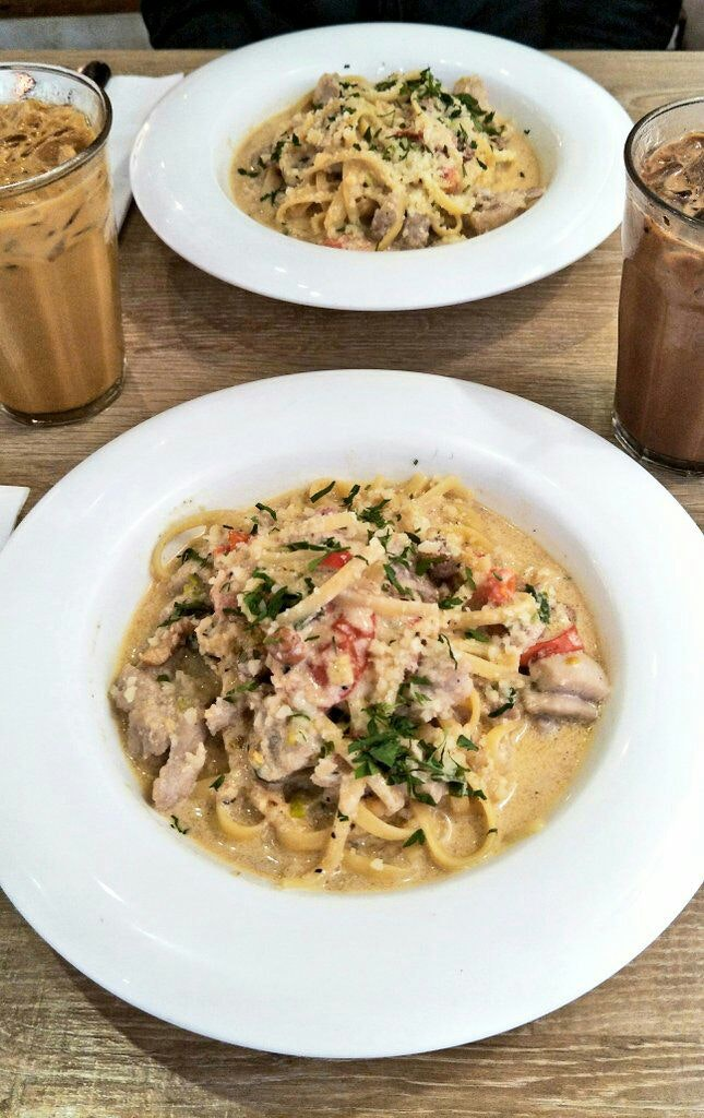 Great Pasta and Coffee