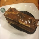Chocolate Peanut Butter Cake @ Starbucks CP