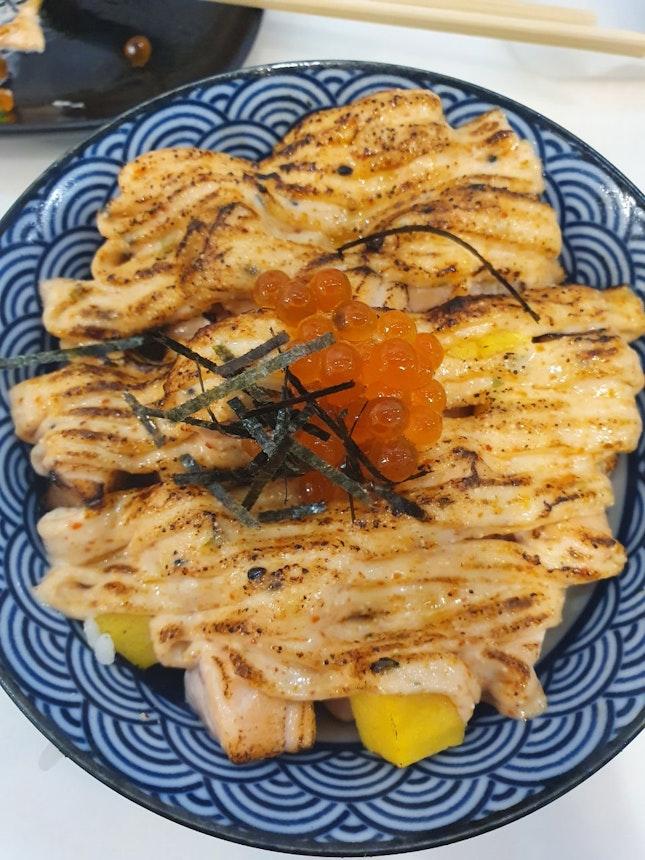 Delicious  Salmon Don