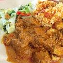 Nasi Padang.