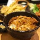 Chicken Katsudon.
