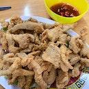Thai sauce chicken fillet.