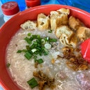 Super long wait for this Pork and cuttlefish Congee.