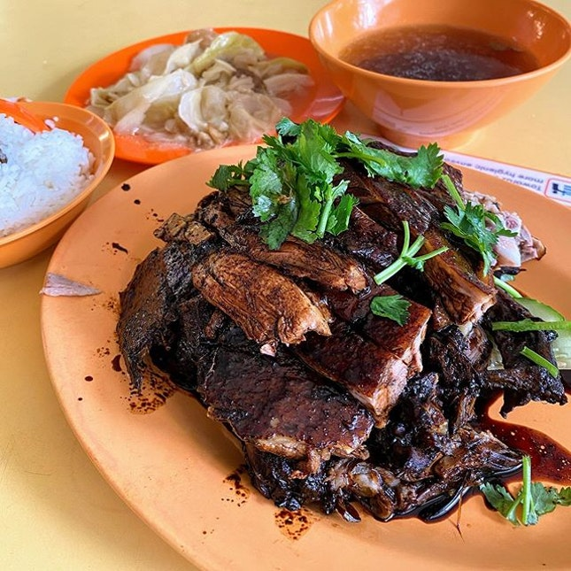 Braised Duck lunch with good kawan.