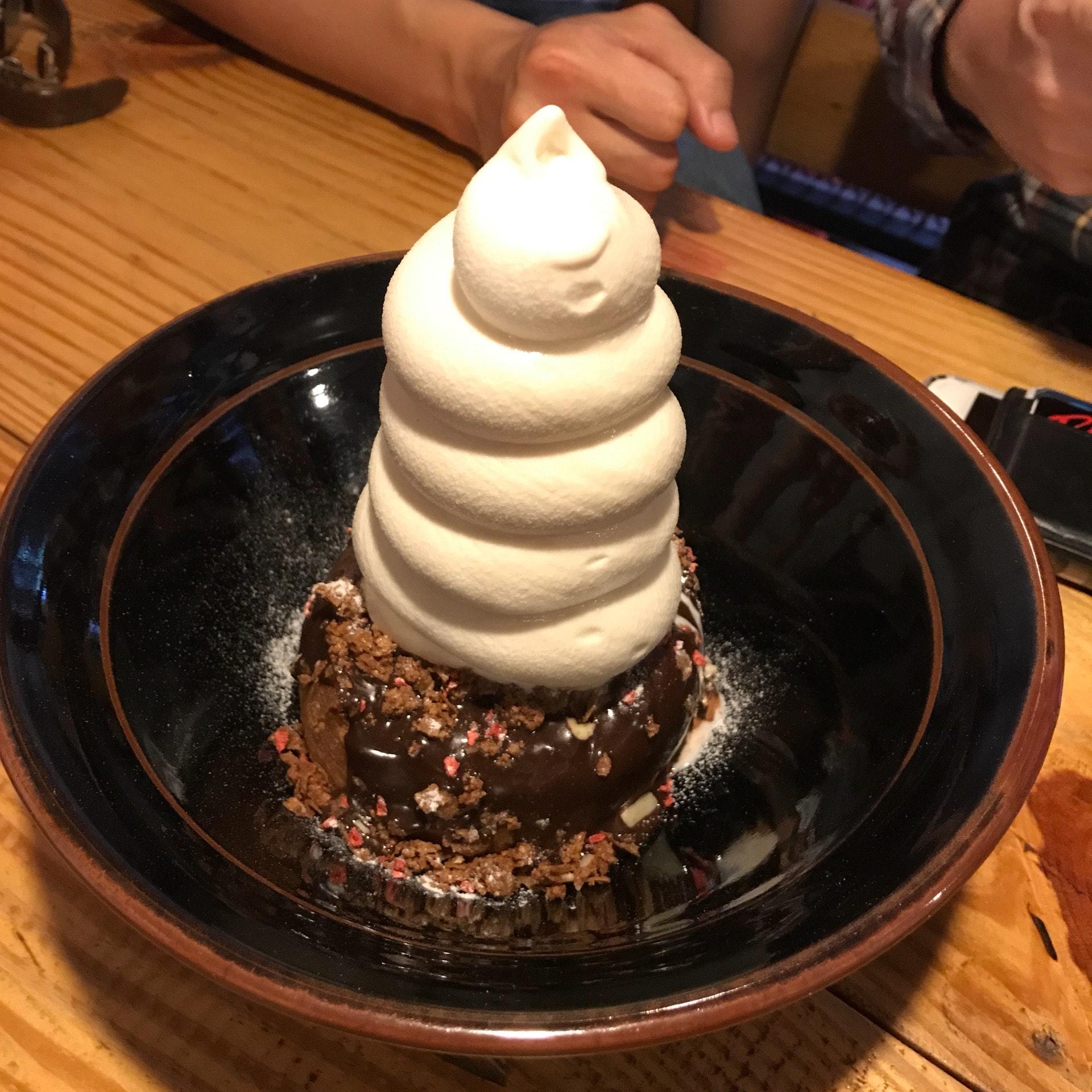 Horlicks Soft Serve Mochi