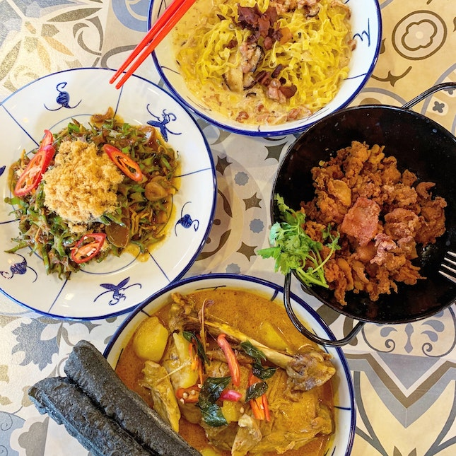 Asian with a Peranakan Twist
