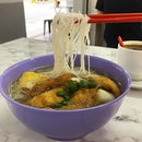 YTF with rice vermicelli  _ Old charm gives way to modernisation.