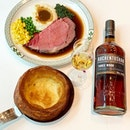 Auchentoshan X Lawry's The Prime Rib Singapore.