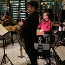 First Jazz @ Relish Frasers Tower presents The Asian Jazz All-Stars POWER TRIO _ Jeremy Monteiro (keyboard), Eugene Pao (Bass), Chanutr Techatananan (Drums).