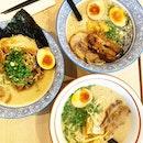 Ramen, Ramen, Ramen _ Enjoyed the ramen texture & the soup which is less salty.